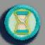 沙漏徽章01 毛线卡比