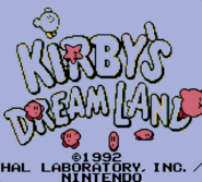 KDL Title Screen