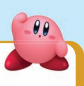 Kirby with arm or hand up