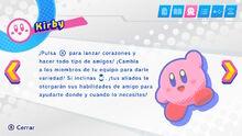 Descripción Kirby (KSA)