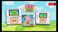 Kirby au Fil de la Grande Aventure pub tv fr FRench TV commercial