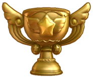 KDCol Trophy artwork gold