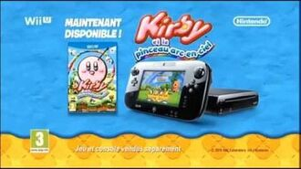 Kirby et le pinceau arc en ciel PUB FR FRench TV commercial