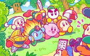 Kirby 25th Anniversary artwork 32
