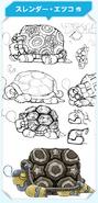KPR Sleepy Turtle concept art