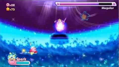 Kirby's Return To Dreamland - Final Boss Magolor HD