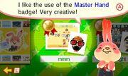 Master Hand Badge