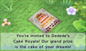 Cake Royale Invitation