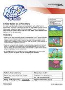 KMA fact sheet