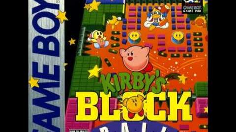 Kirby's Block Ball - Stage 1-0