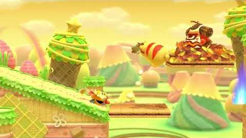 Kirby Star Allies Sir Kibble Showcase