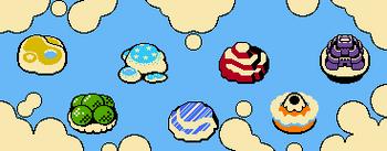 Rainbow Islands | Kirby Wiki | FANDOM powered by Wikia on kirby's dreamland map, super mario world 2 map, lovecraft h.p. lovecraft world map,