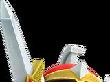 Héros à l'épée