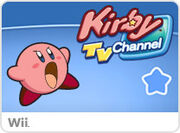 Kirby TV Channel Wii