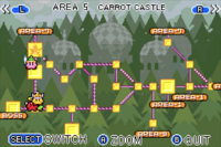 Carrot Castle Map