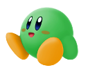 SSBU Green Kirby artwork
