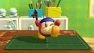 KatRC Red Waddle Dee figurine 2