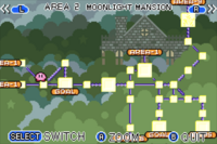 Moonlight Mansion Map