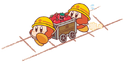 Pupupu Train Mine Cart