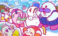 Kirby 25th Anniversary artwork 11