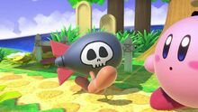 Kirby y Un Bomber en Ultimate