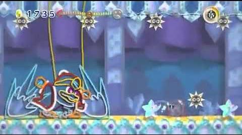Kirbys Epic Yarn - King Dedede Battle