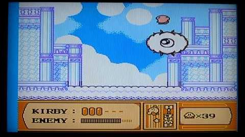 Kirby's Adventure NES Level 4 Boss