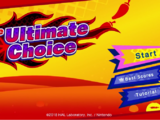 The Ultimate Choice