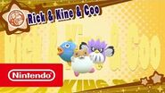 DLC de Kirby Star Allies - Rick & Ken & Coo (Nintendo Switch)