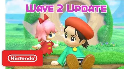 Kirby Star Allies Wave 2 Update - Adeleine & Ribbon - Nintendo Switch