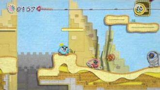Kirby Au fil de l'Aventure Trailer Game