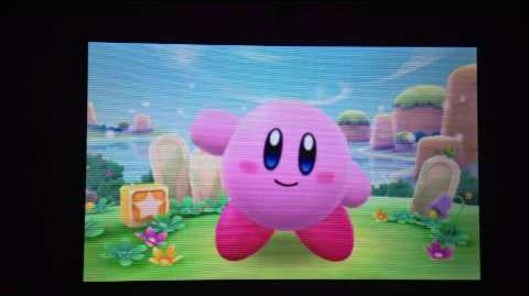 Meet Kirby in Streetpass Mii Plaza Puzzle Swap