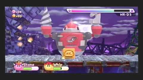 Kirby's Return to Dreamland Ex Mode Egg Engines Boss Metal General Ex and HR-D3