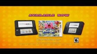 Kirby Triple Deluxe Now Available 3DS 30 US TV Commercial