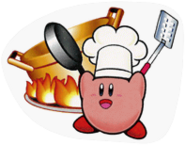 SSBB Cook Kirby sticker