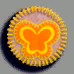 蝴蝶徽章01 毛线卡比