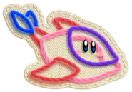 Kirby's Epic Yarn (Forma Delfin)