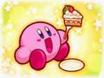 150px-Kirby and Cake
