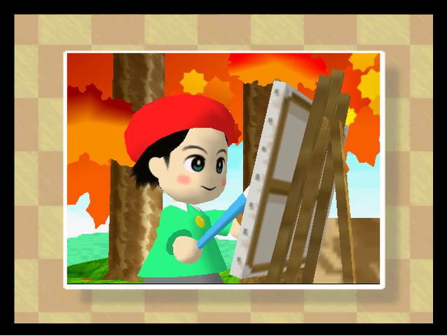 Archivo:Niño pintor Kirby64.png
