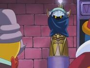 Meta knight on statue