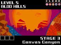 Canvas canyon level select