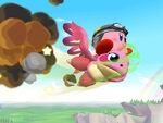 Flappy Kirby Wii