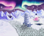 Ice Island Level Map 2