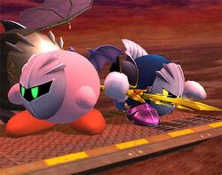 Kirby Meta Knight SSBB