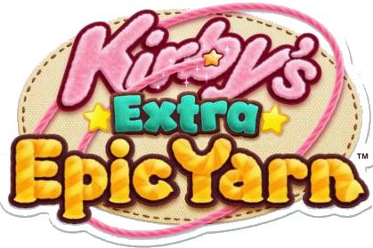 Kirby's Extra Epic Yarn en logo