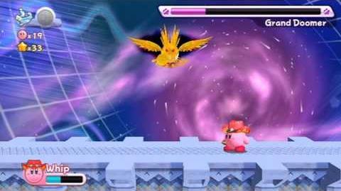 Kirby's Return To Dreamland - Nutty Noon ~ Boss- Grand Doomer -HD-