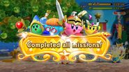 Completed Missions