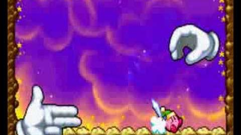 Kirby & The Amazing Mirror Master Hand & Crazy Hand