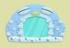 企鹅镜子家具01 毛线卡比