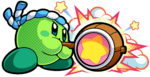 KBR Green Hammer Kirby Artwork